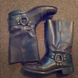 Tall Leather Frye Boots